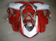OEM quality fairings and body kits for Ducati 848/1098/1198 with red and white color scheme/graphics, these fairing kits are oem quality, fast shipping and easy installtion. More factory color-matched fairings for Ducati 848/1098/1198, team race replica fairings and custom fairing sets for Ducati 848/1098/1198, please browse iFairings.com.
