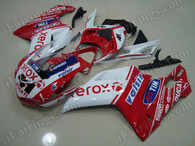 OEM quality fairings and body kits for Ducati 848/1098/1198 with XEROX color scheme/graphics, these fairing kits are oem quality, fast shipping and easy installtion. More factory color-matched fairings for Ducati 848/1098/1198, team race replica fairings and custom fairing sets for Ducati 848/1098/1198, please browse iFairings.com.