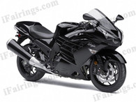 aftermarket fairings and bodywork for 2012 to 2015 Kawasaki Ninja ZX104R, this motorcycle fairings are replacement plastic with various graphics,  they are top quality and oem fairing quality comparable. All the bodywork panels are pre-drilled and 100% precise fit factory bike.