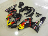 aftermarket fairings and bodywork for 2000 2001 Yamaha YZF R1, this motorcycle fairings are replacement plastic with various graphics,  they are top quality and oem fairing quality comparable. All the bodywork panels are pre-drilled and 100% precise fit factory bike.