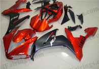 Yamaha YZF-R1 2004 2005 2006 candy red and black fairing kits, this Yamaha YZF-R1 2004 2005 2006 plastics was applied in candy red and blackgraphics, this 2004 2005 2006 YZF-R1 fairing set comes with the both color and decals shown as the photo.If you want to do custom fairings for YZF-R1 2004 2005 2006,our talented airbrusher will custom it for you.