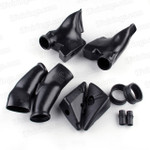 2003 204 Honda CBR600RR Stock ram air duct / air intake tube replacement, ABS plastic material made and precise fitment, no need adjustment, just bolts on the original position.