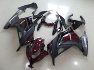 aftermarket fairings and bodywork for Kawasaki 2013 2014 Ninja 300 ZX300, this motorcycle fairings are replacement plastic with various graphics,  they are top quality and oem fairing quality comparable. All the bodywork panels are pre-drilled and 100% precise fit factory bike.