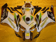 Honda CBR1000RR 2004 2005 Eurobet fairing kits, this Honda CBR1000RR 2004 2005 plastics was applied in Eurobetgraphics, this 2004 2005 CBR1000RR fairing set comes with the both color and decals shown as the photo.If you want to do custom fairings for CBR1000RR 2004 2005,our talented airbrusher will custom it for you