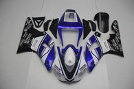 aftermarket fairings and bodywork for 1998 1999 Yamaha YZF R1, this motorcycle fairings are replacement plastic with various graphics,  they are top quality and oem fairing quality comparable. All the bodywork panels are pre-drilled and 100% precise fit factory bike.