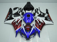 aftermarket fairings and bodywork for Honda CBR1000RR 2006 2007, this motorcycle fairings are replacement plastic with various graphics,  they are top quality and oem fairing quality comparable. All the bodywork panels are pre-drilled and 100% precise fit factory bike.