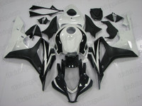 2007 2008 Honda CBR600RR white and black fairing for sale, all cbr600rr fairing cowls are perfect fitment and the paint is beautiful.