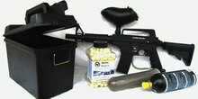 Tippman Alpha Black Deter-It Starter Package