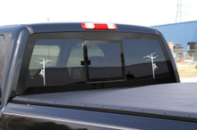 Dueling Chrome Linemen Decals (2)!!  Check them out.