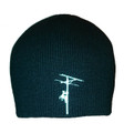 Front of our Lineman Beanie (Skull Cap), Made in America!