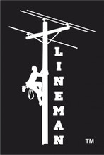 LINEMAN DECAL