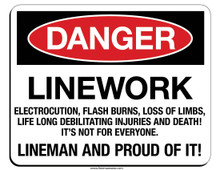 Make a statement, show your lineman pride!
