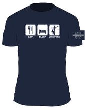 Anyone who has been around for any amount of time can surely relate to this lineman t-shirt.