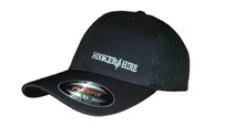 """""""Hooker for Hire"""" embroidered on front left and our popular Lineman Wear logo on the back."""