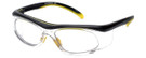 Global Vision Eyewear RX Safety Series RX-A in Black-Yellow