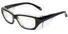 Global Vision Eyewear Full Lens RX Safety Series Y27EOP04 in Blk
