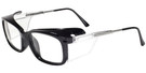Global Vision Eyewear Full Lens RX Safety Series Y28DPF600 in Black