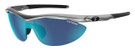 Tifosi High Performance Sunglasses Slip in Steel with 3 Lens Set