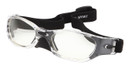 ProTech Safety Glass Z87.1+ Safety Rated-Black w/ Optical Rx Inserts