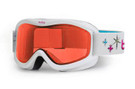 Bollé Ski Goggles: Volt in White Stars with Citrus Lens Youth Size
