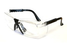 Calabria STS-401 Clear Safety Glass Z87.1+ Safety Rated with Optical Insert