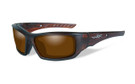 Wiley X Arrow in Matte-Layered Tortoise & Polarized Amber Lens