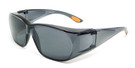Calabria 8533 Over Sunglasses in Grey Lens