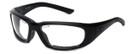 Harley-Davidson Official Designer Safety Eyewear HDSZ711-BLK in Black Frame with Clear Lens