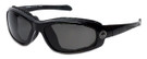 Harley-Davidson Official Designer Safety Eyewear HDSZ809-BLK in Black Frame with Grey Lens