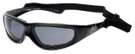 Harley-Davidson Official Designer Safety Eyewear HDSZ6705-BLK in Black Frame with Grey Lens