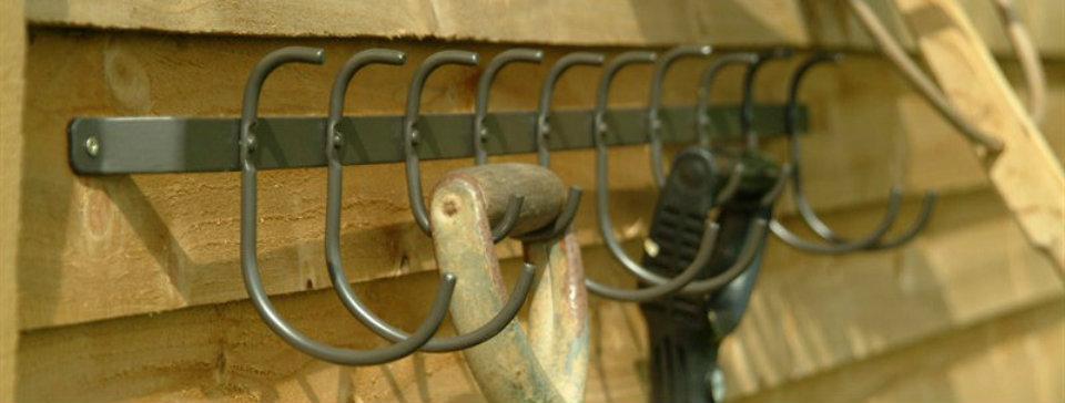Garage shed lovehooks limited for Garden shed hooks