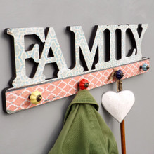 FAMILY Hall Vintage Style Coat Rack
