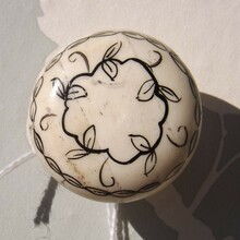 Hand painted Bone Door Knob | Lovehooks