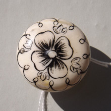 Painted Flower Drawer Knob | Lovehooks