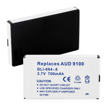 AUDVX CDM-9100 LI-ION 700mAh Cellular Battery