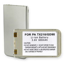 PAN TX210 LI-ION 600mAh and SILVER Cellular Battery