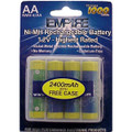4AA NiMH RECHARGEABLE PER CARD Video Battery