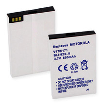 MOTOROLA V170 and 171 L-ION 850mAh Cellular Battery