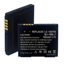 LG VX8700 LI-ION 700mAh Cellular Battery