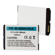 BLACKBERRY 9000 and BOLD LI-ION 1300mAh Cellular Battery