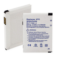 HTC WING and P4350 LI-POL 1130mAh Cellular Battery
