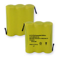 1X3AA WITH TABS - NCAD 900mAh Cordless Battery