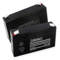 Sealed Lead Acid Battery 6 Volt 3.4 Ah
