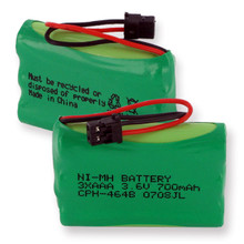 1X3AAA NiMH 700mAh and B CONNECTOR Cordless Battery