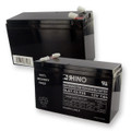 Sealed Lead Acid Battery 12V 7Ah w/wide terminals*