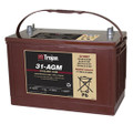 Trojan AGM Cycling Battery 12V 100Ah