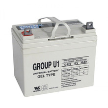 Deep Cycle GEL 31.6AH 12 Volt Battery