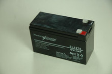 SLA 7.5AH 12 Volt Battery w/T2 Connector