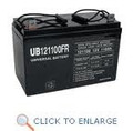 UB121100 12 Volt 110 AMP SLA/AGM Battery with L Connector