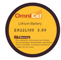 OmniCel 3.6V 1.7 Ah 1/6D Lithium Battery  - Tray Pack (7)